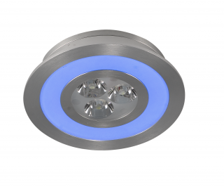 LED-Downlight 3 x 1W + 2 W