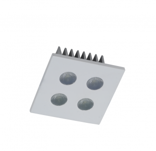 LED-Downlight  4 x 1 W