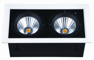 LED-Downlight 2 x 24W