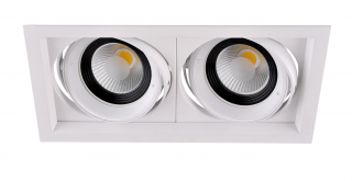 LED Downlight 2 x 15 W