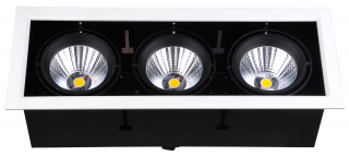 LED Downlight 3 x 24 W